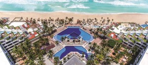 NOW Emerald Cancun Resort & Spa Ariel View